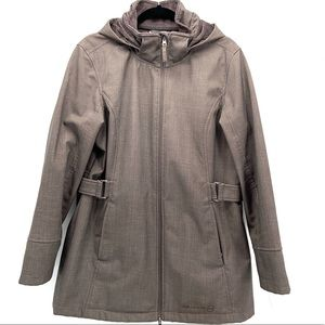 Free Country Weatherproof Hooded Lined Jacket